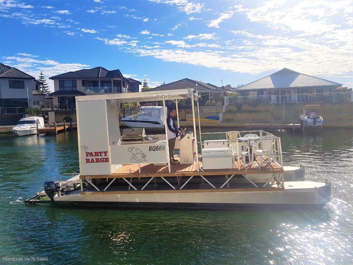 Custom Pontoon Classically Mandurah 33900 Power Boats