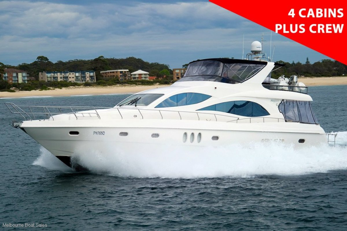 Majesty Yachts 66 - HUGE PRICE REDUCTION