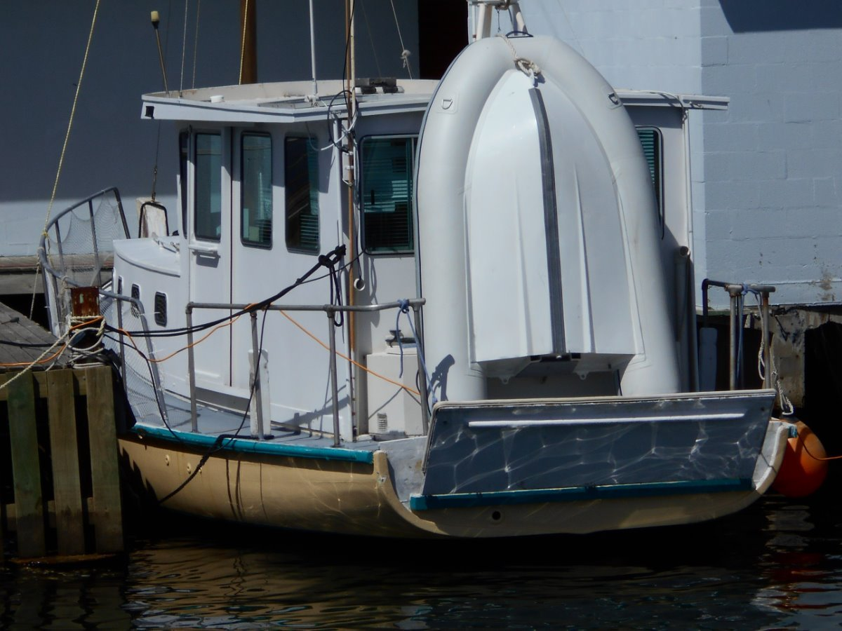 Traditional Converted Ex-Cray Fishing Boat