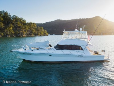 "Riviera 48 Flybridge ""Like time stood still"""
