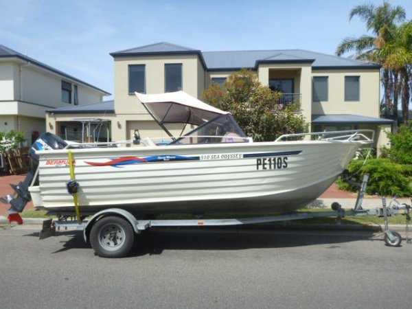Ally Craft 5 10 Bow Rider Sea Odyssey For Sale | Adelaide