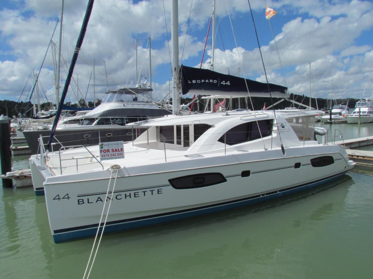 Leopard 44 Owners 3 Cabin Version 2014