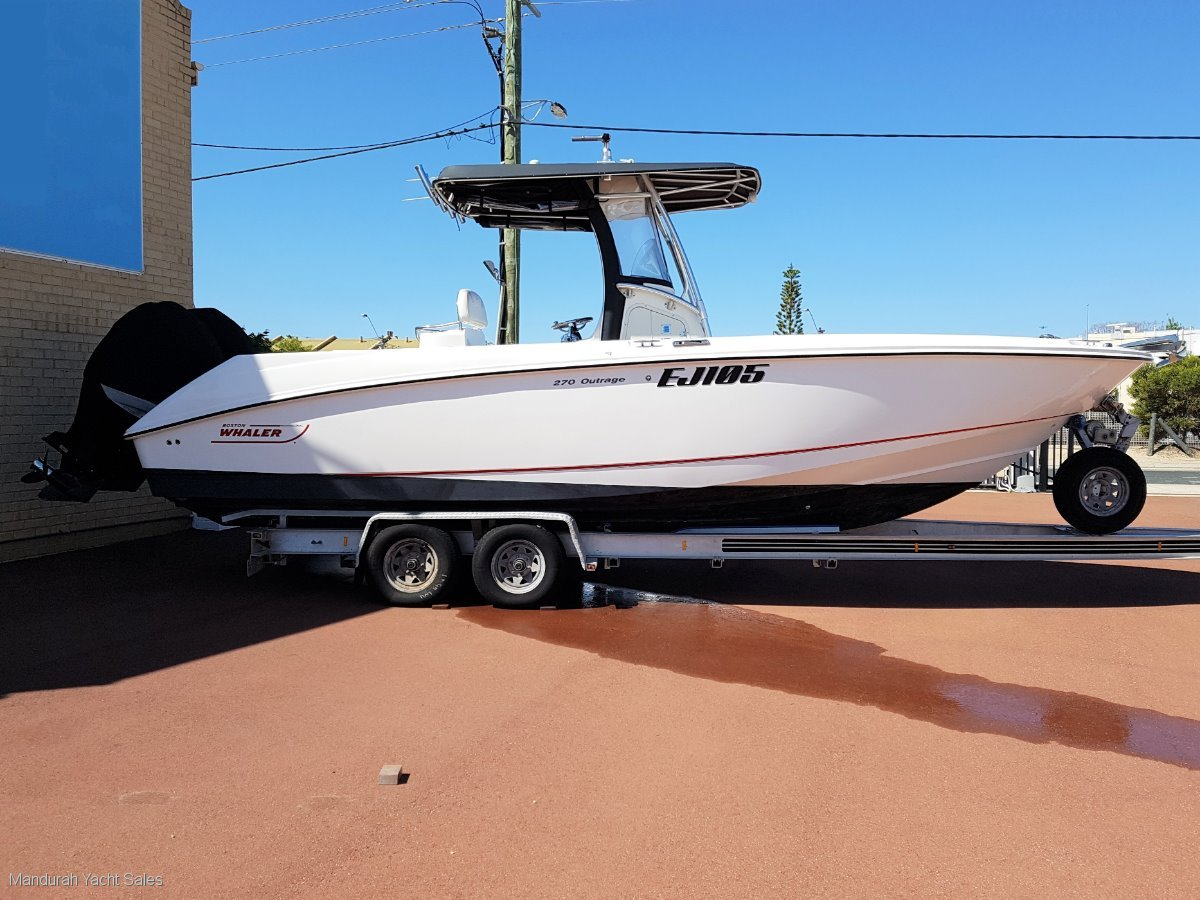 Used Boston Whaler 270 Outrage *** Fishermans Delight