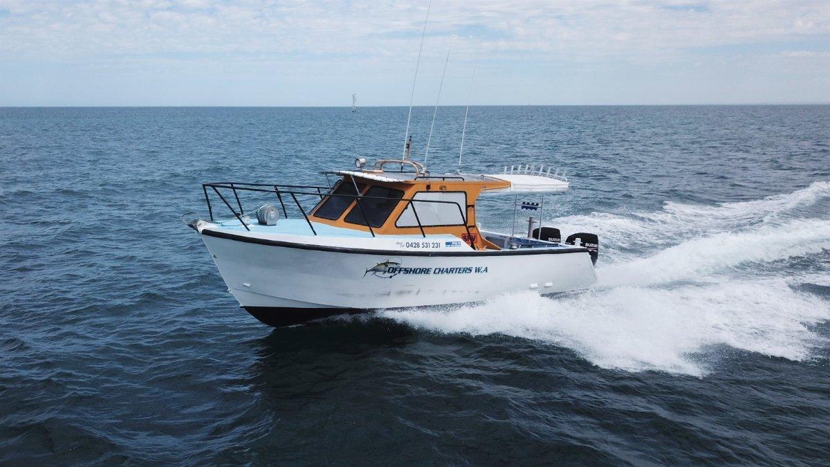 Western Boat Builders Aluminium Charter Vessel