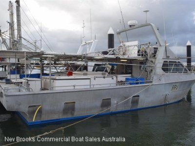 Aluminium Commercial Fishing Vessel