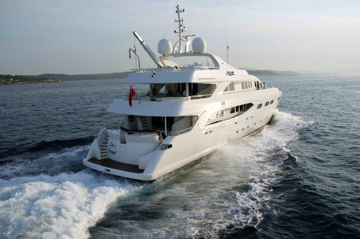 140ft Tri-deck Long Range Motoryacht