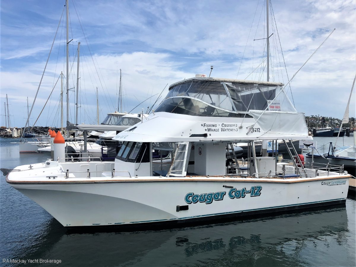 Cougar Cat 40: Power Boats | Boats Online for Sale