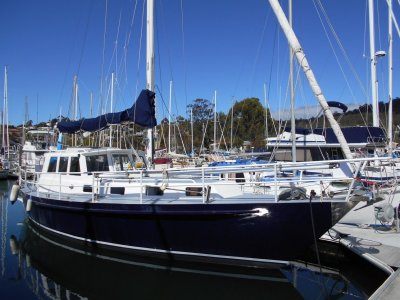 John Pugh 36 True MOTORSAILER presented in very good condition