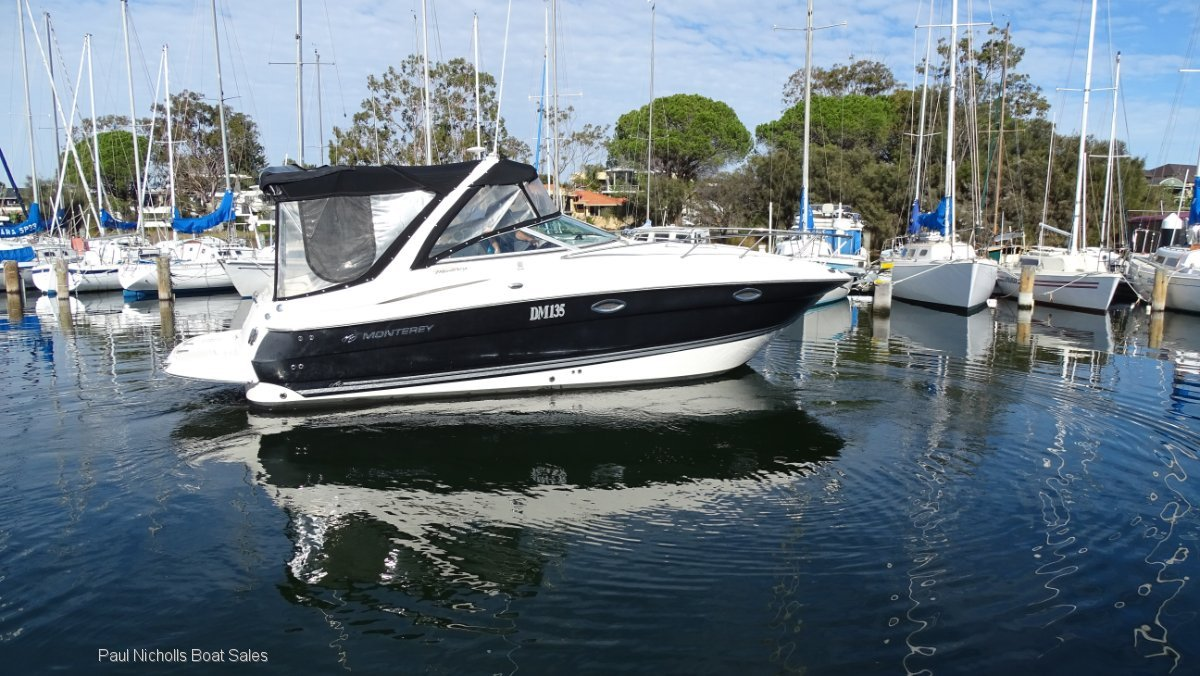Monterey 270 Cruiser ONE OWNER FROM NEW AND PRESENTS LIKE NEW!!
