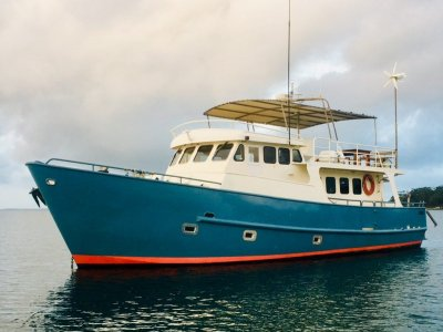 Expedition Style Offshore Cruiser GO ANYWHERE
