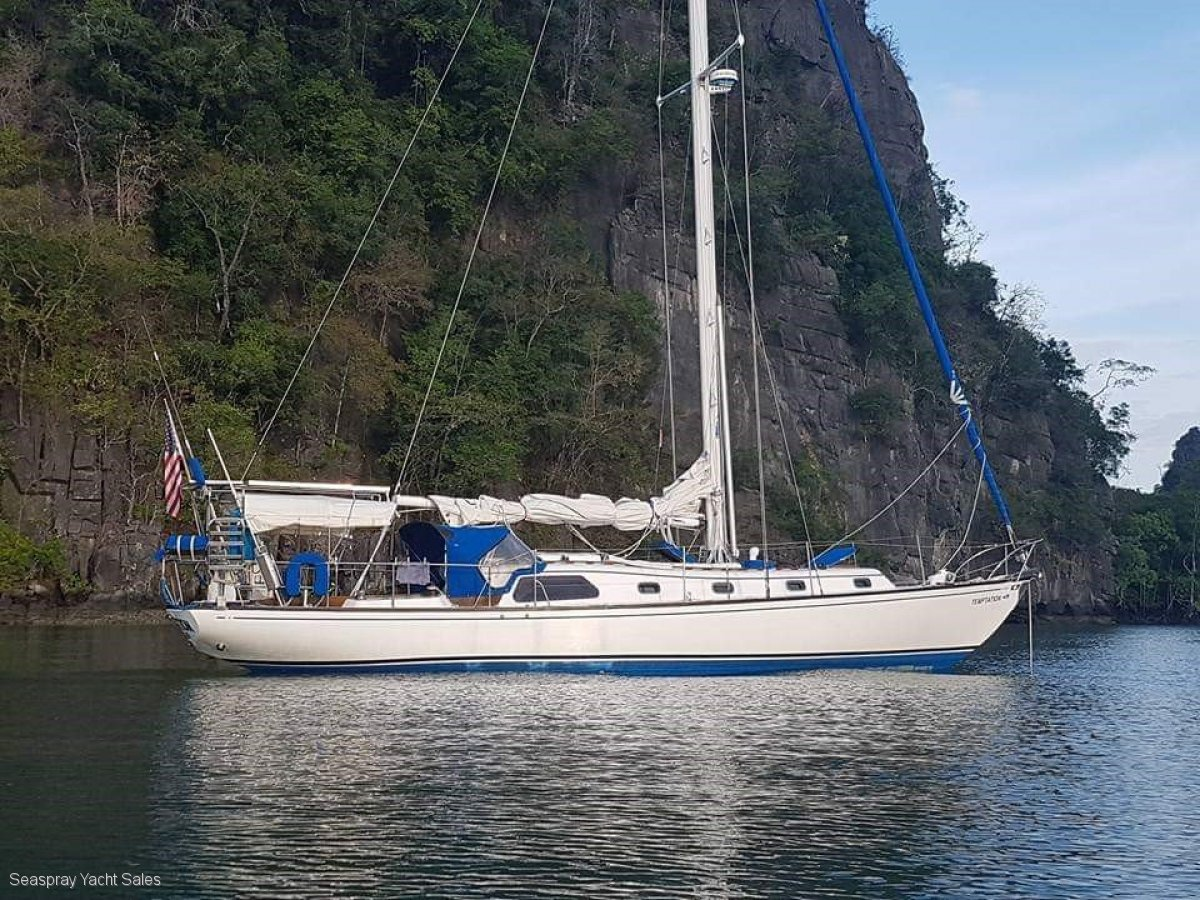 Islander 44 For sale in Asia.:Islander Yacht for sale in Asia by Seaspray Yacht Sales Langkawi