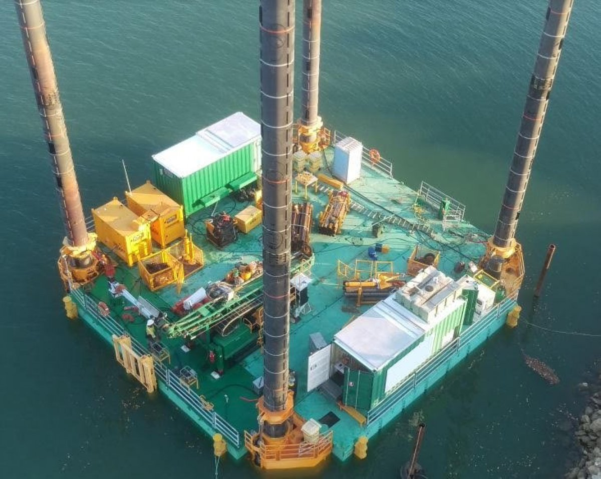 Modular Jack Up Barge 18m x 18m -JU0219