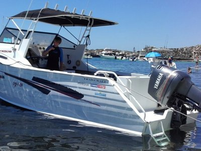 Trailcraft 640 Sportscab Yamaha 150 saltwater series