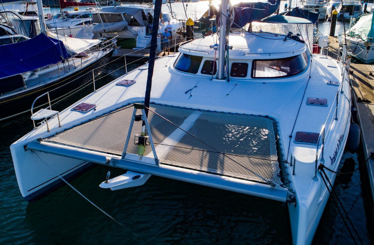 Fountaine Pajot Bahia 46 -Original & hardly used - RARE 3 Cabin Owners Ver.