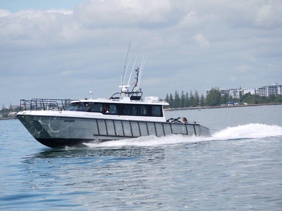 Dive - Survey- Crew Transfer 2C Alloy Catamaran