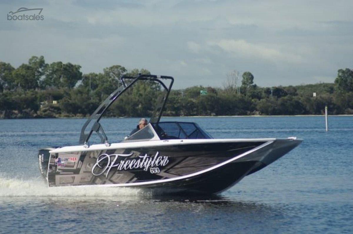 New Quintrex 630 Freestyler