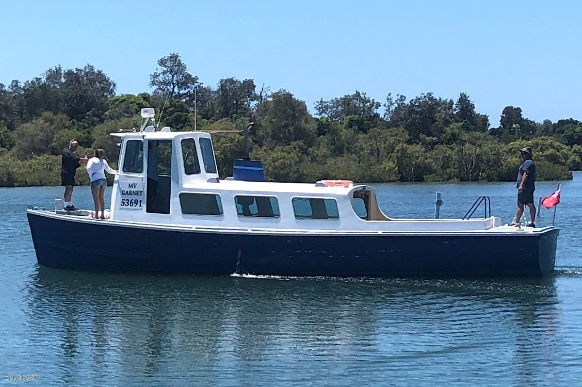 Australian Navy 40 Timber Work Boat