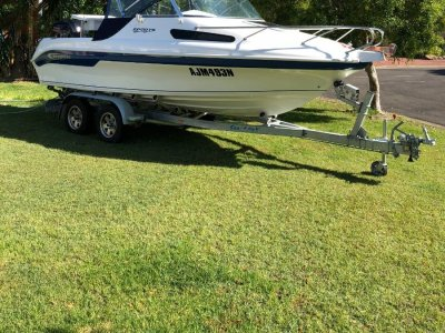 Baysport 585 Sports 2017 Model with Extras and Upgrades Galore