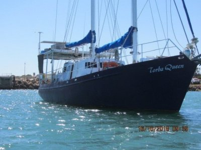 Adams 52 Pilothouse Motor Sailer