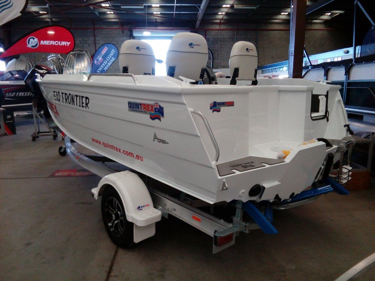 New Quintrex 510 Frontier