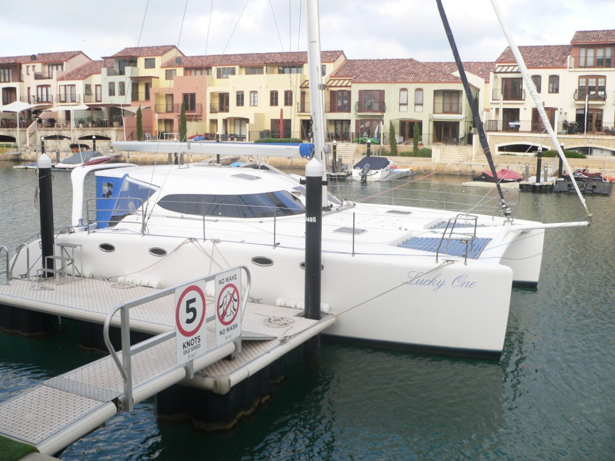 Fusion Catamarans 40:Lucky One