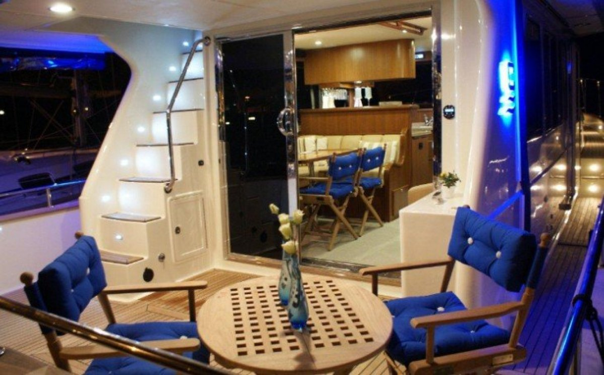 Explorer Motor Yacht 46 ( 50' LOA ):Manufacturers photo