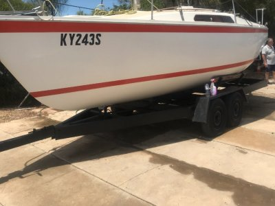 Cole 23 With diesel inboard