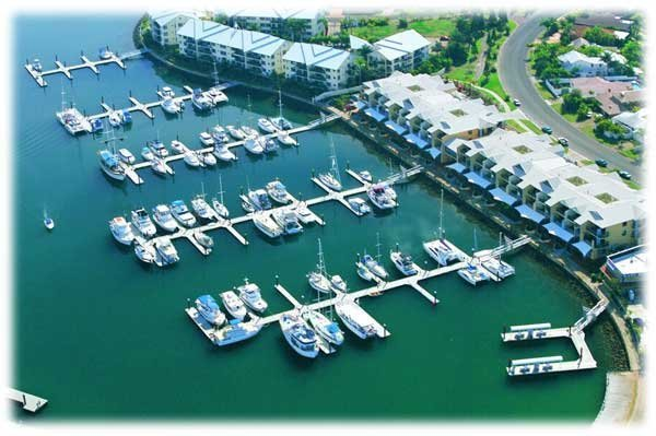 MARINA BERTH FOR SALE - 15M MULTI (6.3m WIDTH) RABY BAY MARINA A17