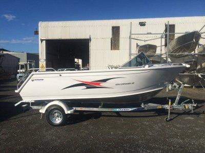 Horizon Aluminium Boats 474 Stryker SR powered with 60HP Yamaha 4 stroke $27490.00