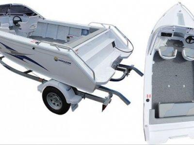 Horizon Aluminium Boats 438 Stryker Runabout SR powered with 40hp Yamaha 4 Sroke $24,000