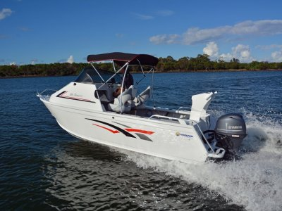 Horizon Aluminium Boats 525 Scorpion Powered with 70hp Yamaha Display Boat $44.394