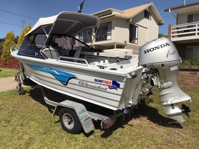 Quintrex 420 Breezeabout Very good condition