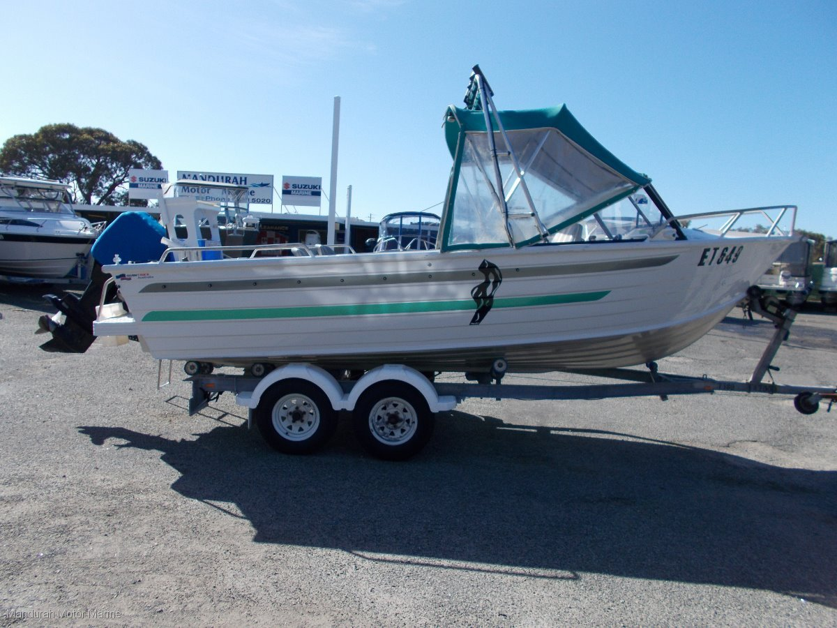 Quintrex 550 Freestyler Fantastic Family Fishing Boat - Easy to tow!