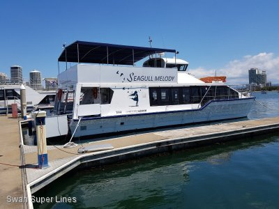Hydrofield TWO LEVEL 100 PASSENGER CHARTER VESSEL