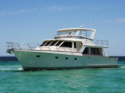 Offshore 55 Pilothouse - Extensive refit including repower & engineering