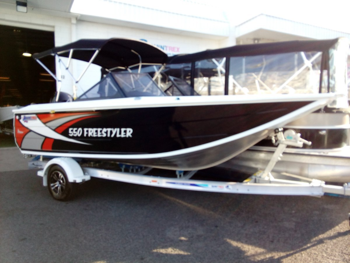 New Quintrex 550 Freestyler