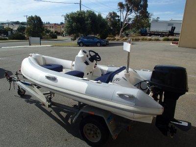 Aquapro Monaco 341 Rigid Inflatable