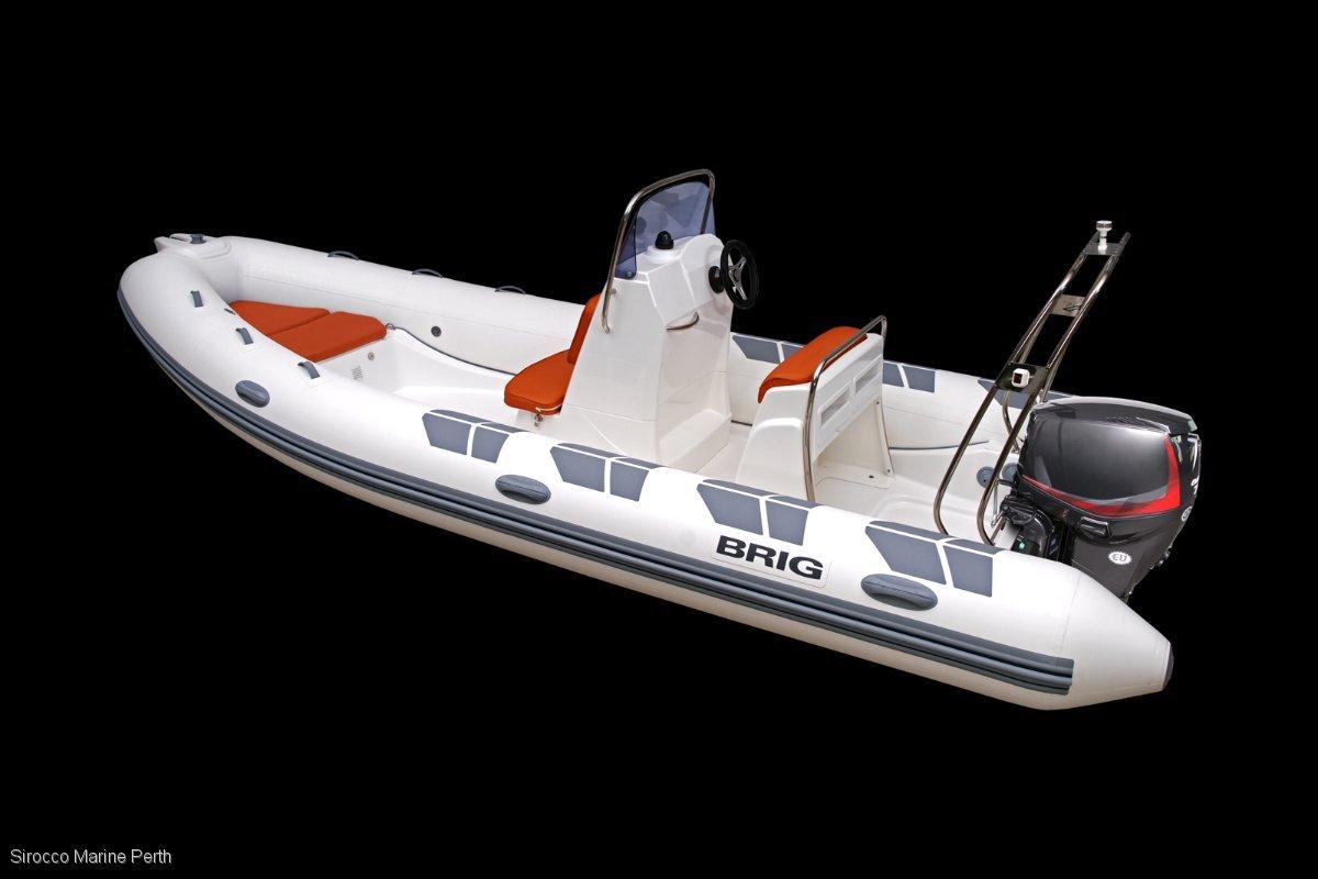 Brig Falcon 570HL Rigid Inflatable Tender (RIB)