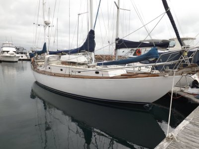 Norman Wright Timber Cutter Yawl