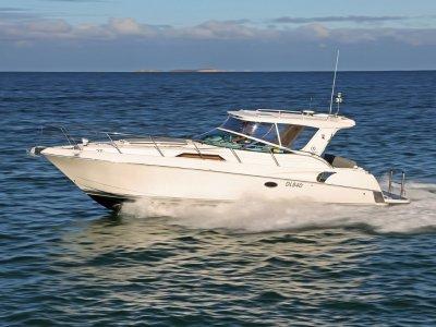 Riviera M360 Sportscruiser - One of a kind - big swimboard & big engines