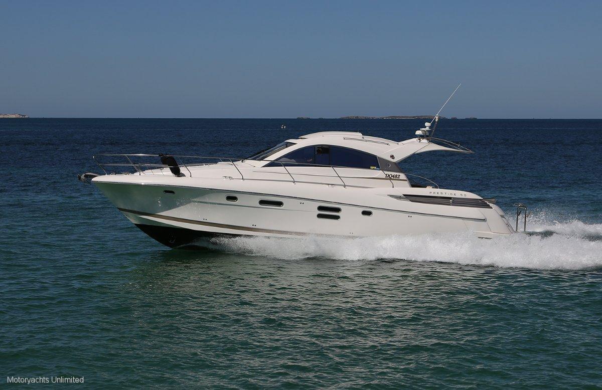 Jeanneau Prestige 50S - Luxurious European design:Jeaneau Prestige 50S