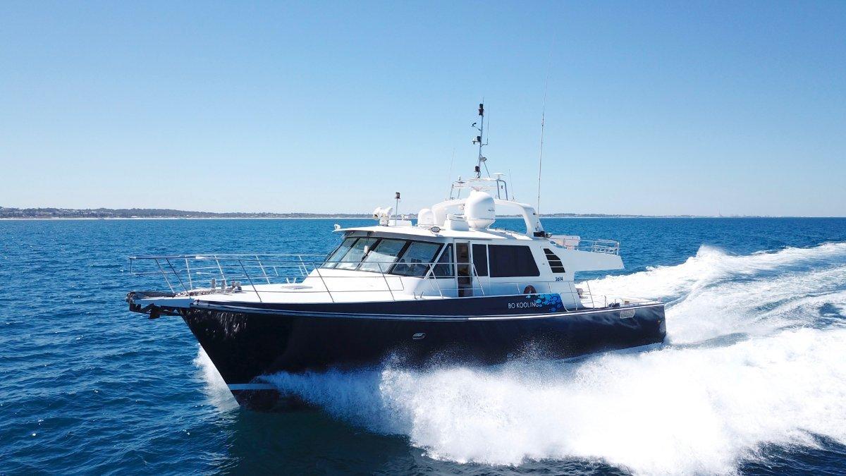 Peter Milner Charter Vessel 22.7m