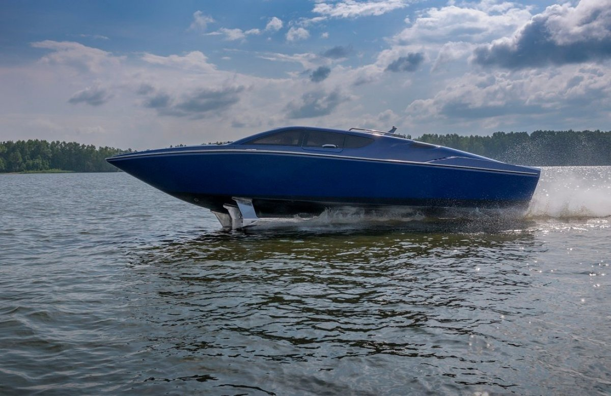 Super High Speed Hydrofoil motorboat