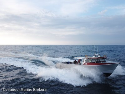 Kirby Marine Global Marine Design 54ft Lobster Fishing Vessel