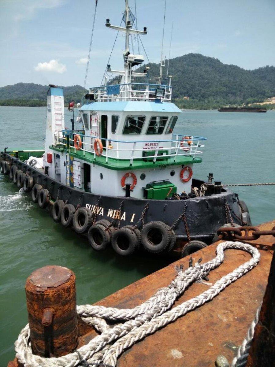 20.26m Steel Tug Boat