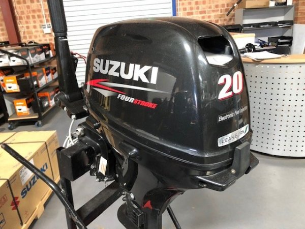 Used Used Suzuki 20hp 4 Stroke Outboard For Sale Boats For Sale Yachthub