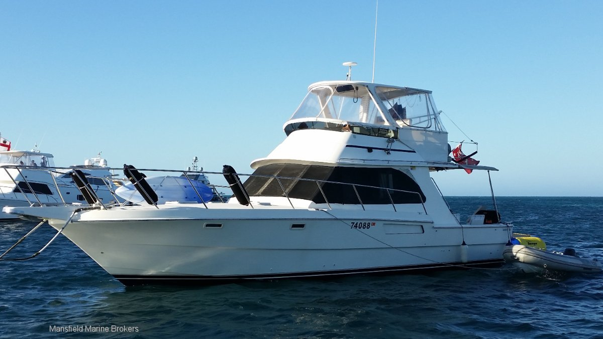 Randell 41 Mark II Flybridge Cruiser