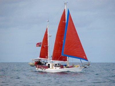 Boden Bass Strait Clipper Sailing Ketch build in Tasmania Launceston