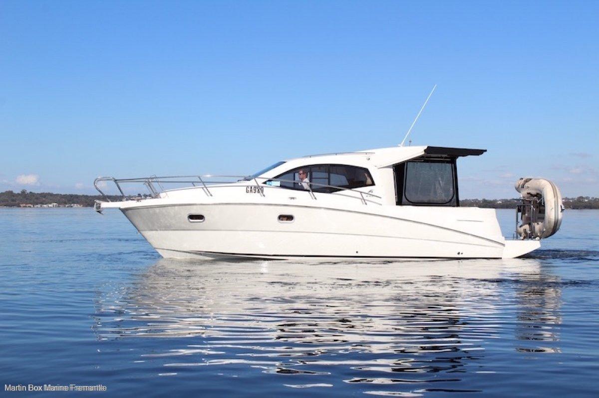Karnic 2965 Cruiser Twin Diesel (Suit Searay, Gulfcraft, Merry Fisher)
