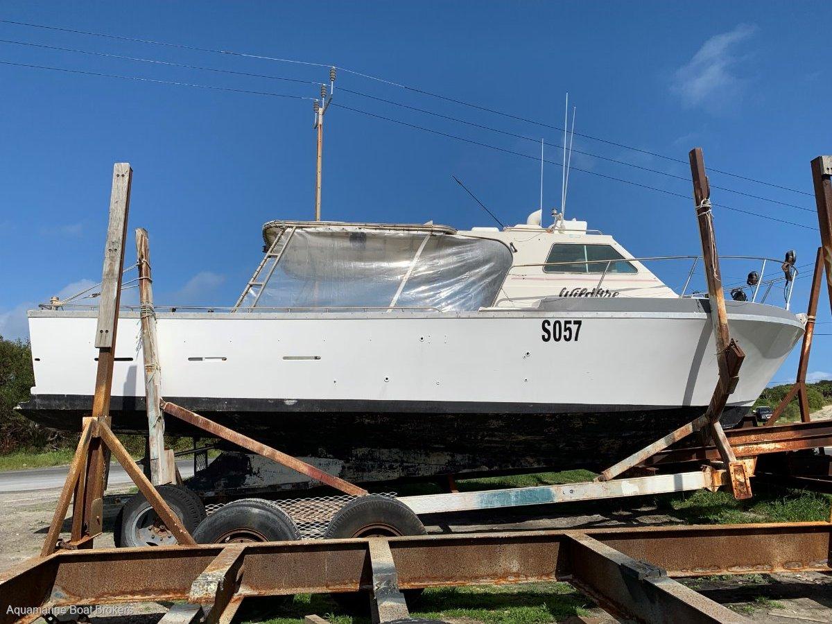 Randell 38 Fibreglass Crayboat